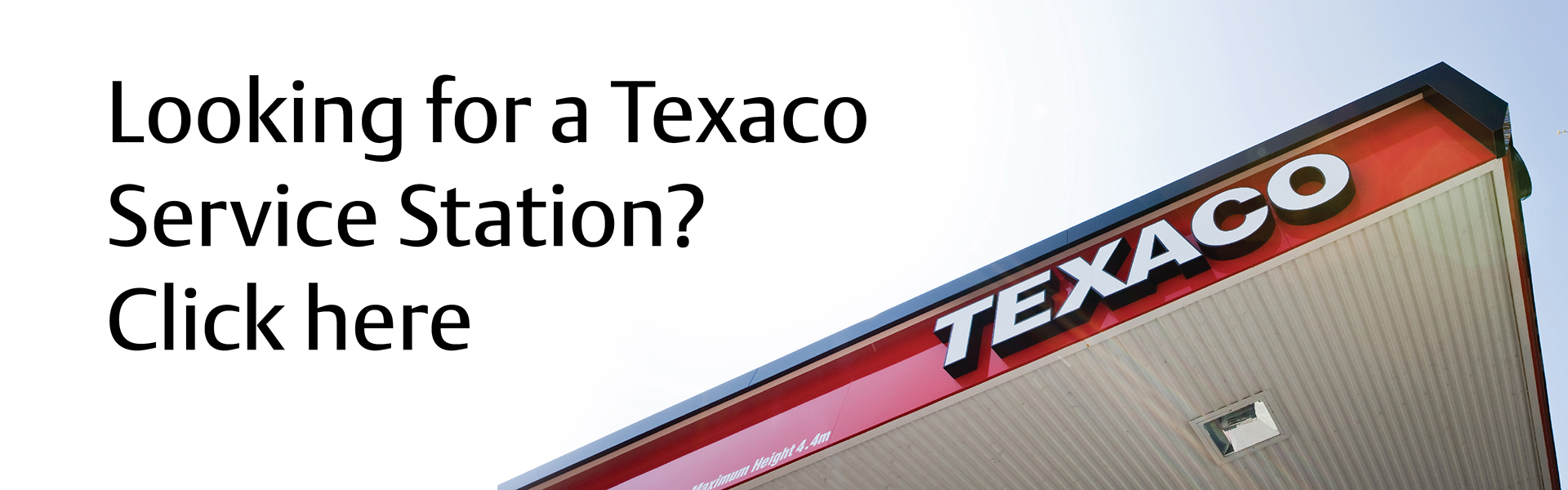 Are you looking for a Texaco Service Station?