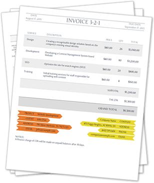 Example 3  Invoice Example Pdf