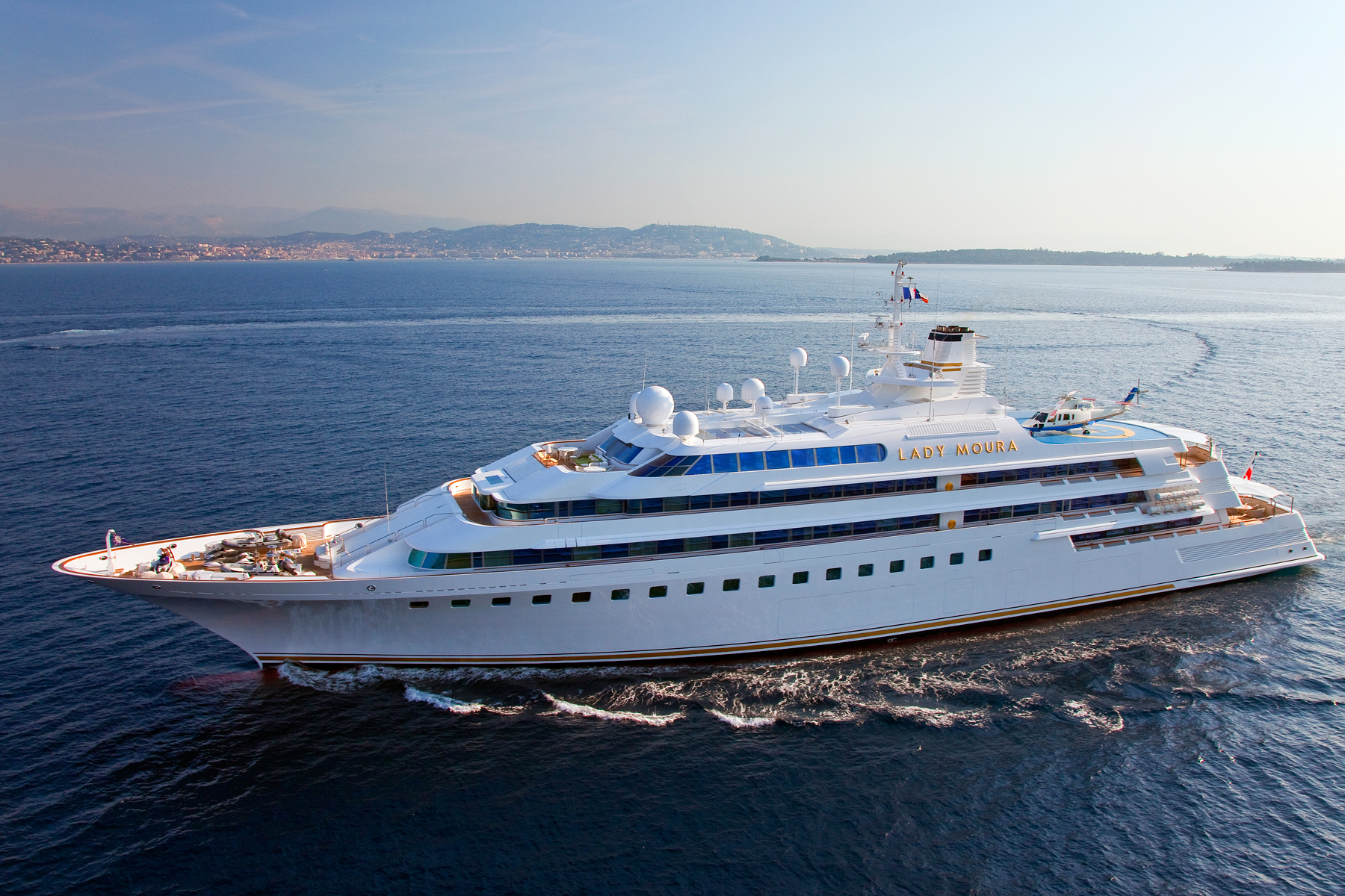 """World's first superyacht"" goes on sale"