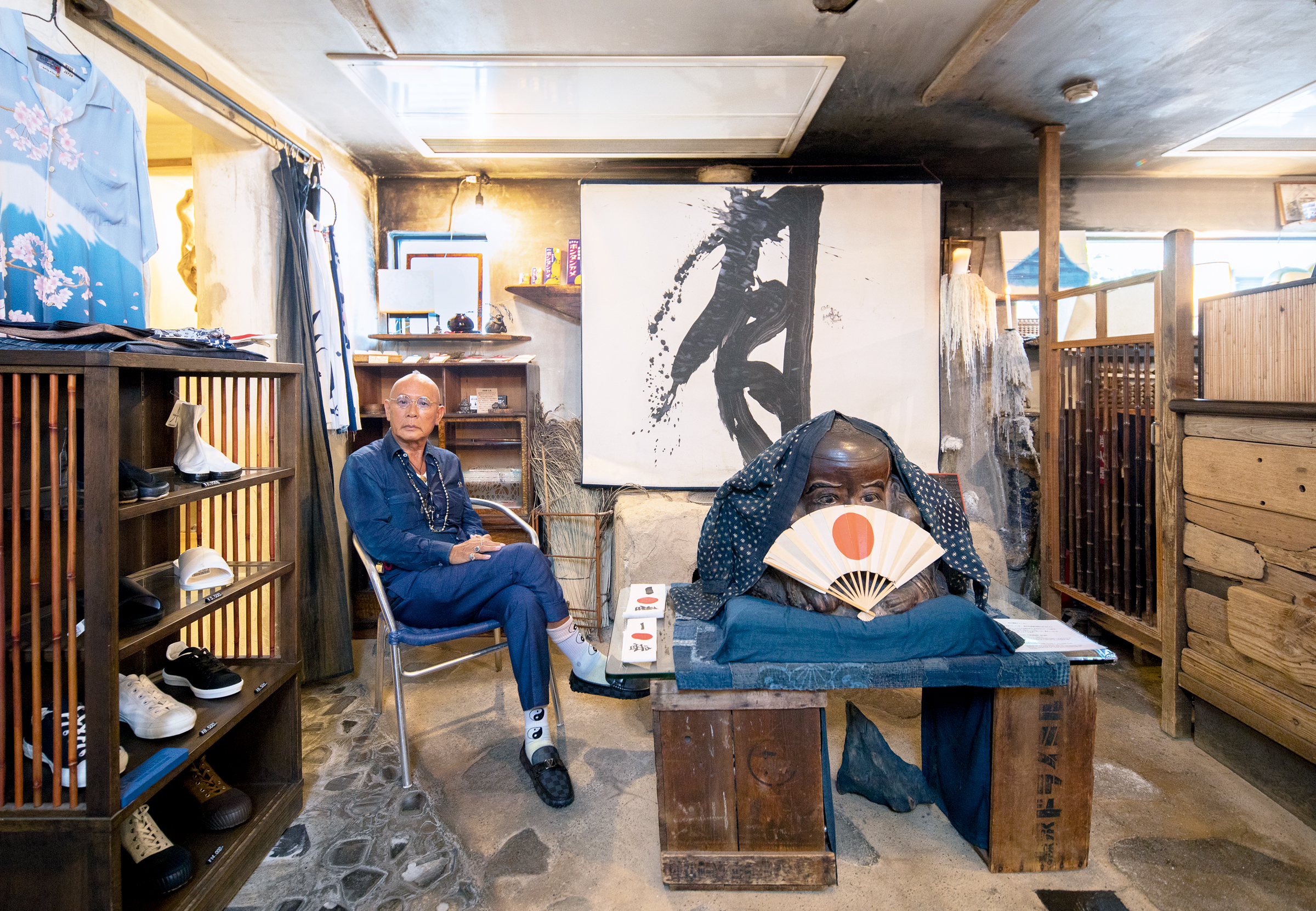 True blue: Tokyo's cult shop for indigo style