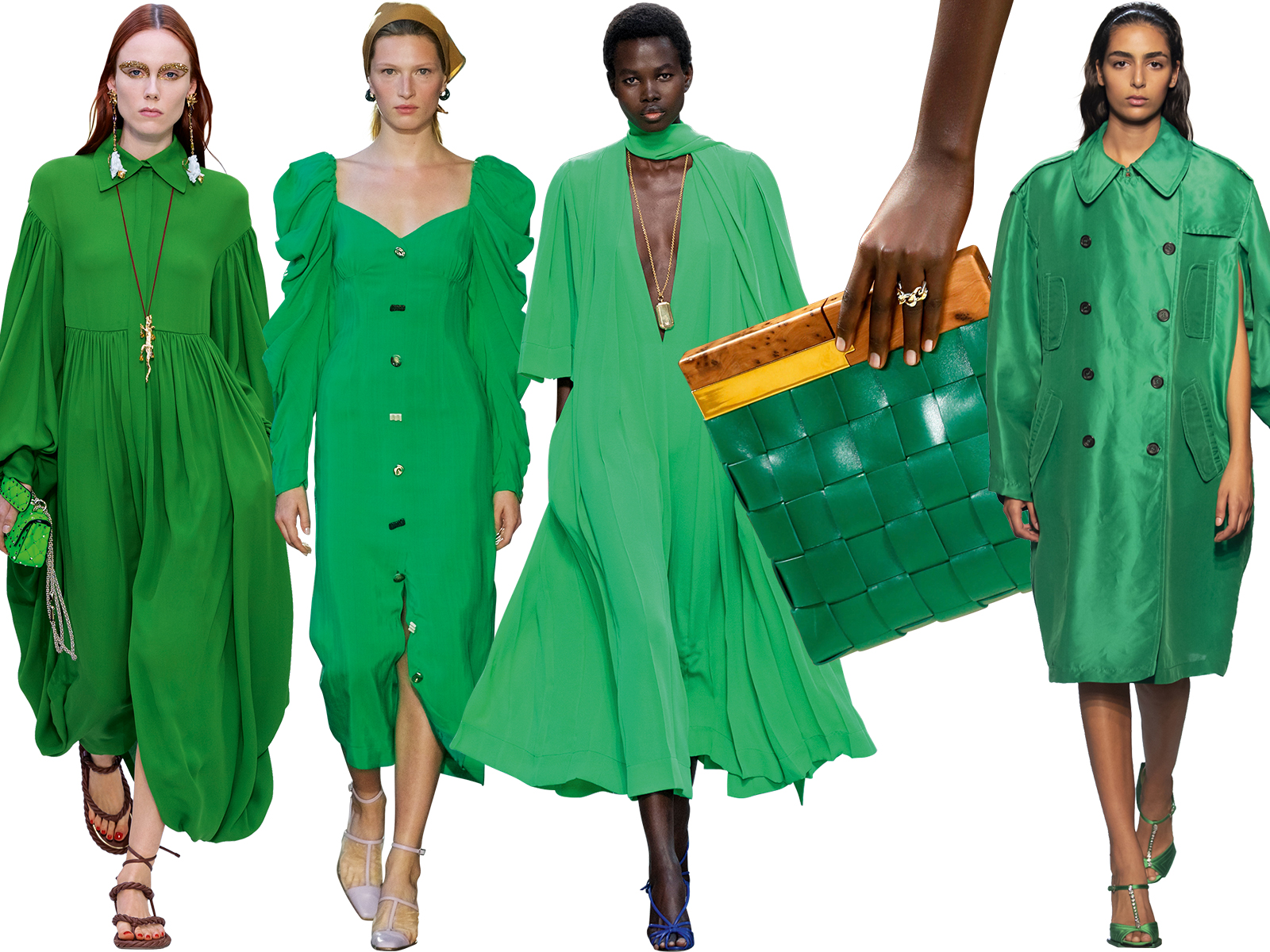 The best green fashion for spring