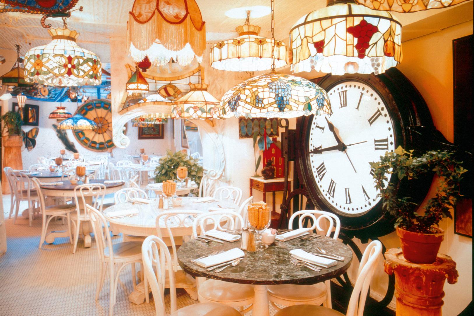 Five Warhol-worthy restaurants