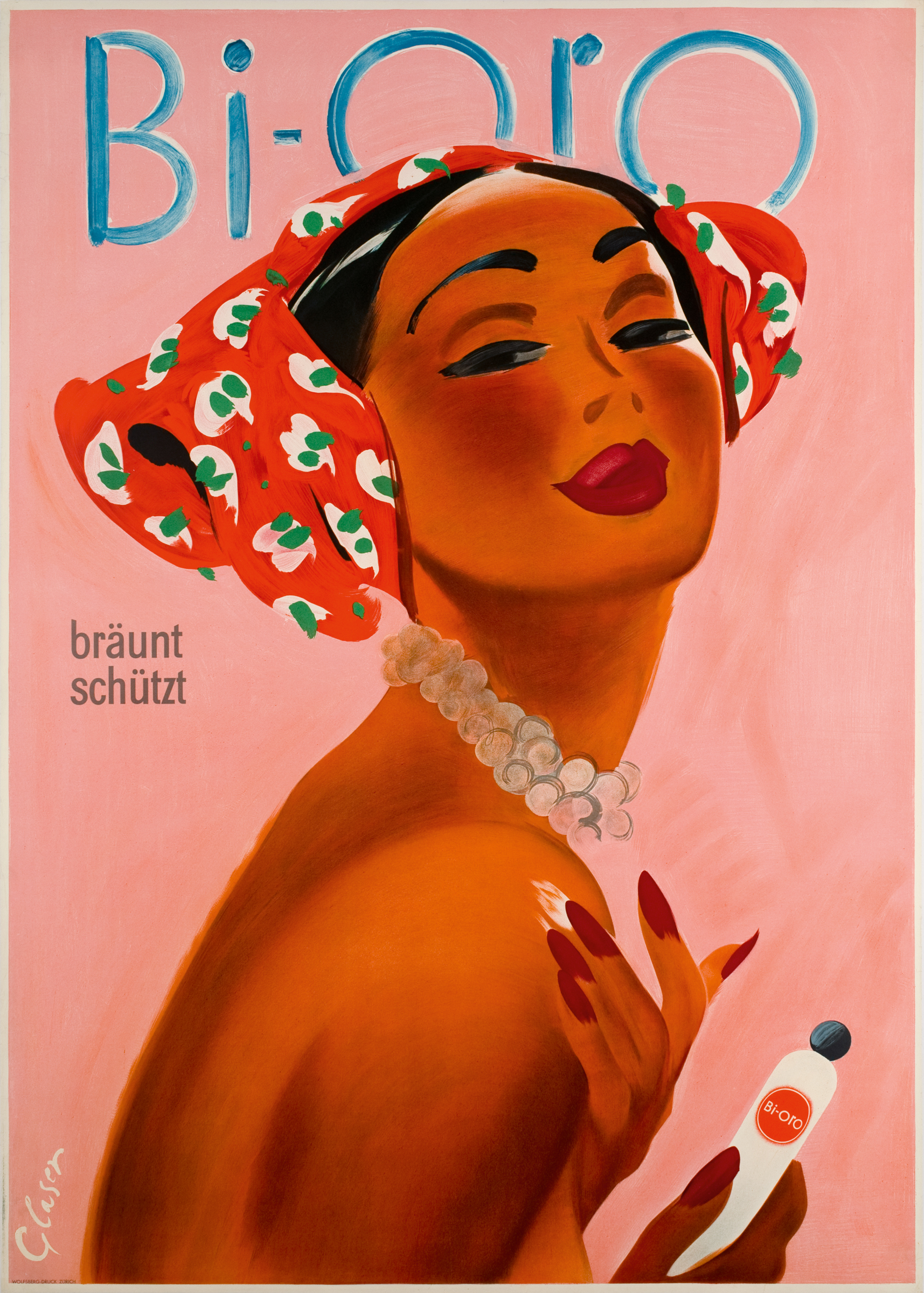 Pretty good investments: collecting vintage beauty posters