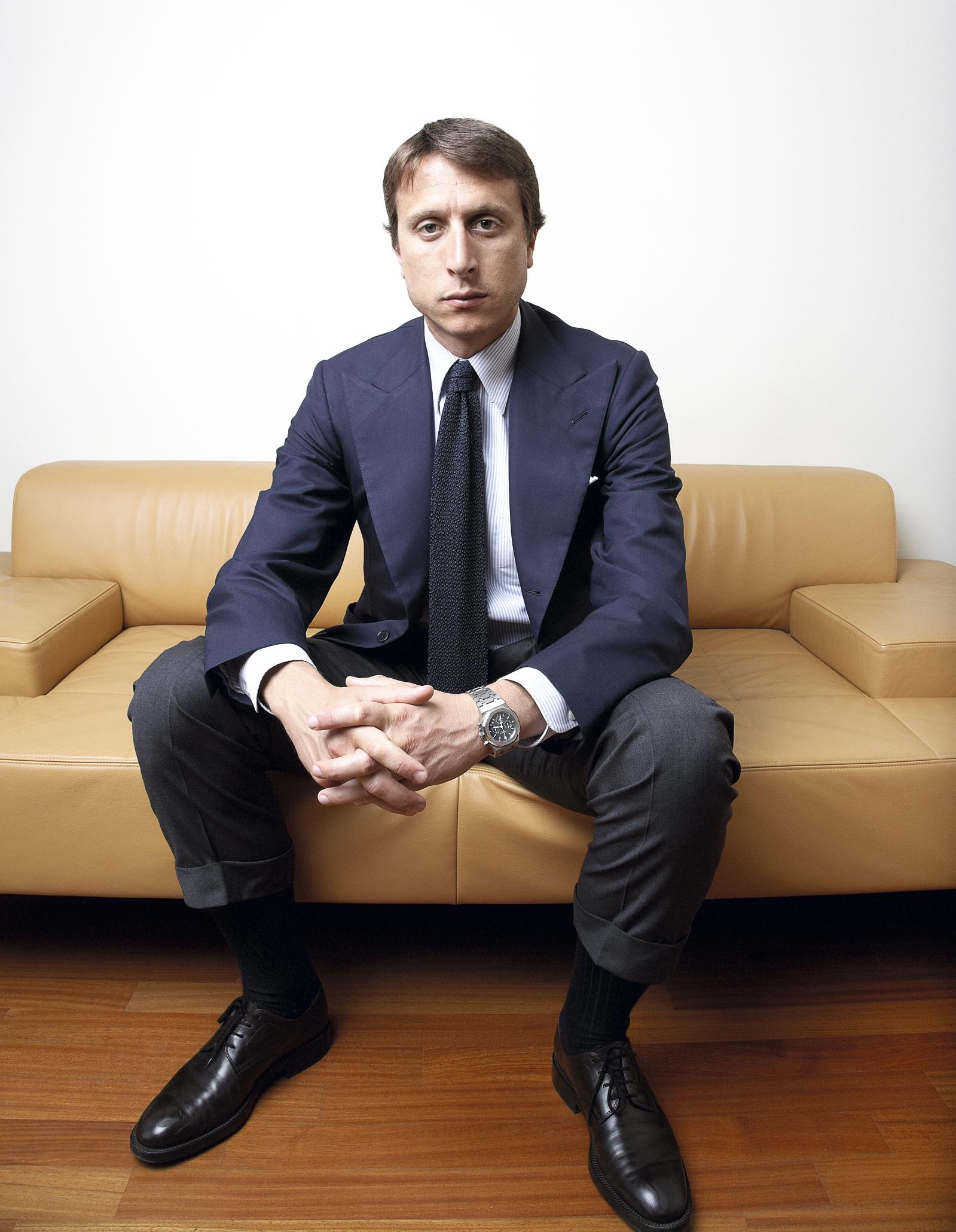 Poltrona Frau Montezemolo.Matteo Di Montezemolo Talks Personal Style How To Spend It