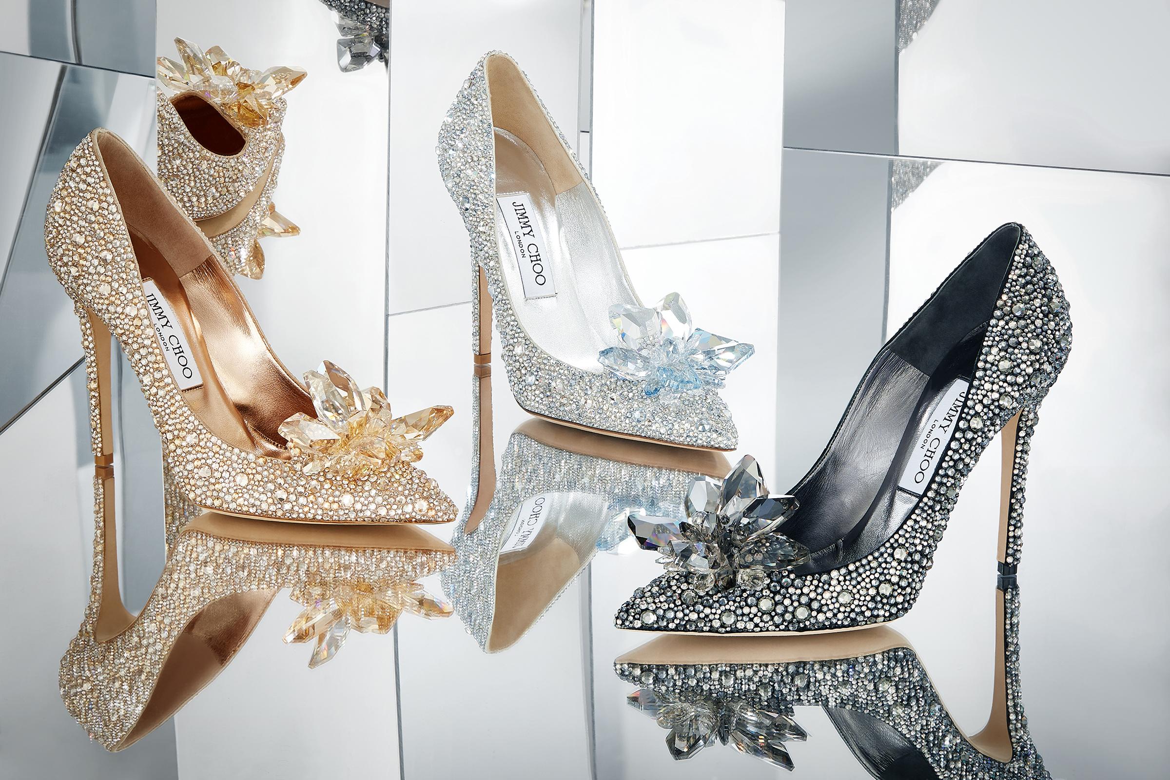 eba8fb1b0eb Cinderella heels from Jimmy Choo