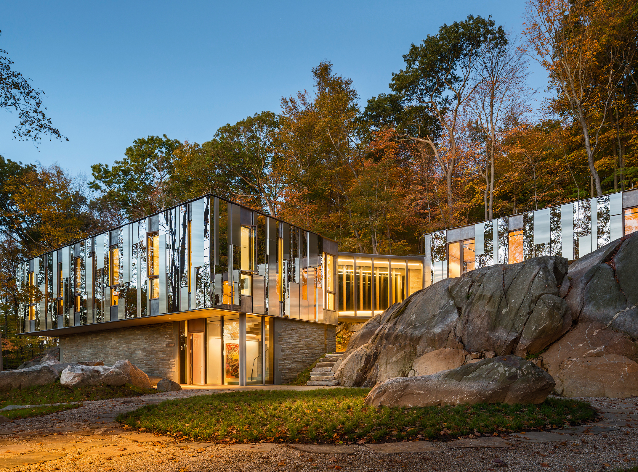 Something To Reflect On Mirrored Houses How To Spend It