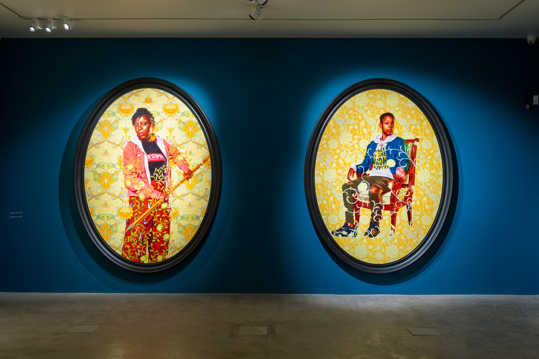 Kehinde Wiley's new portraits arrive at William Morris Gallery