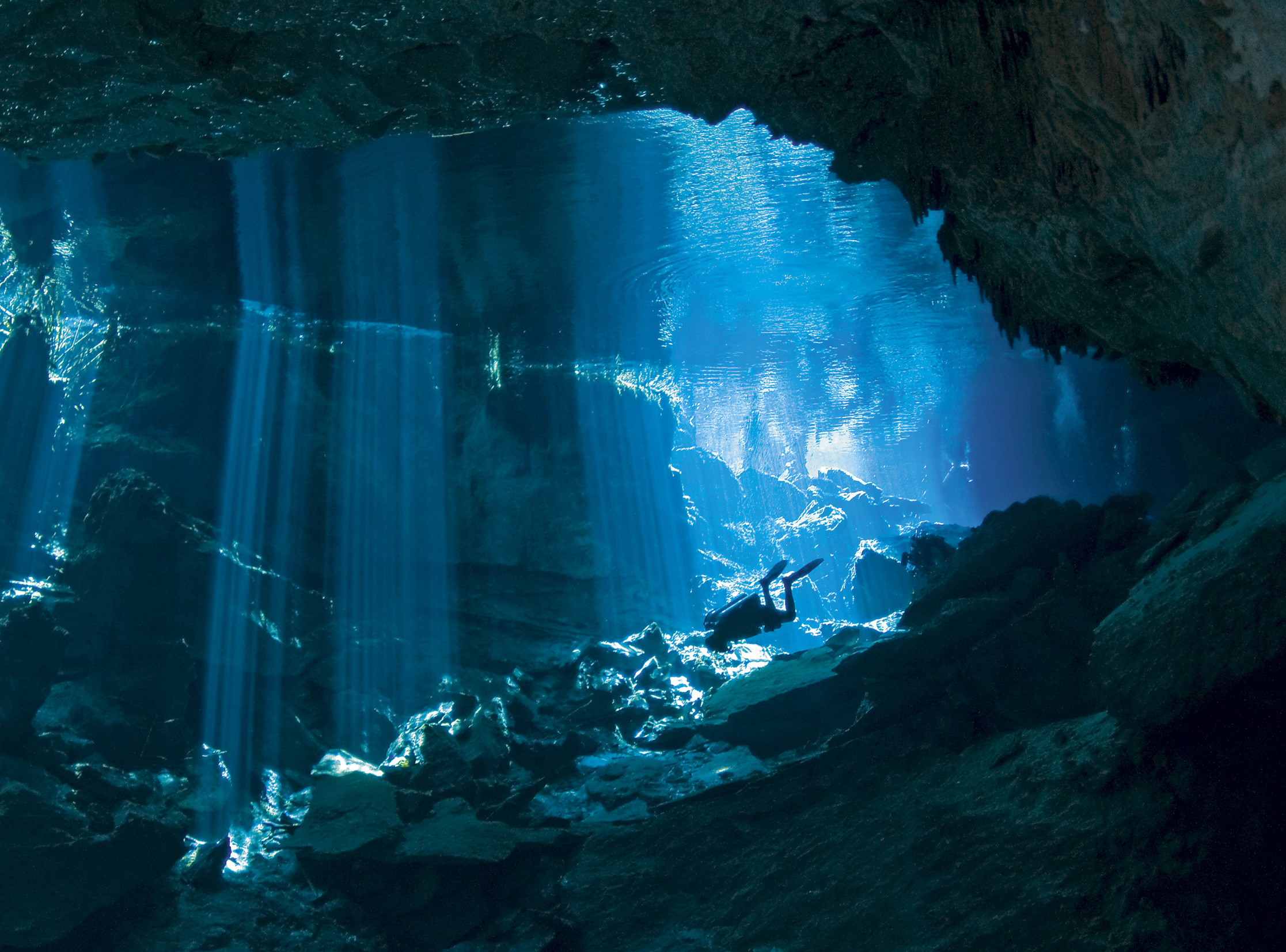 The Thrill Of Cave Diving In Mexico