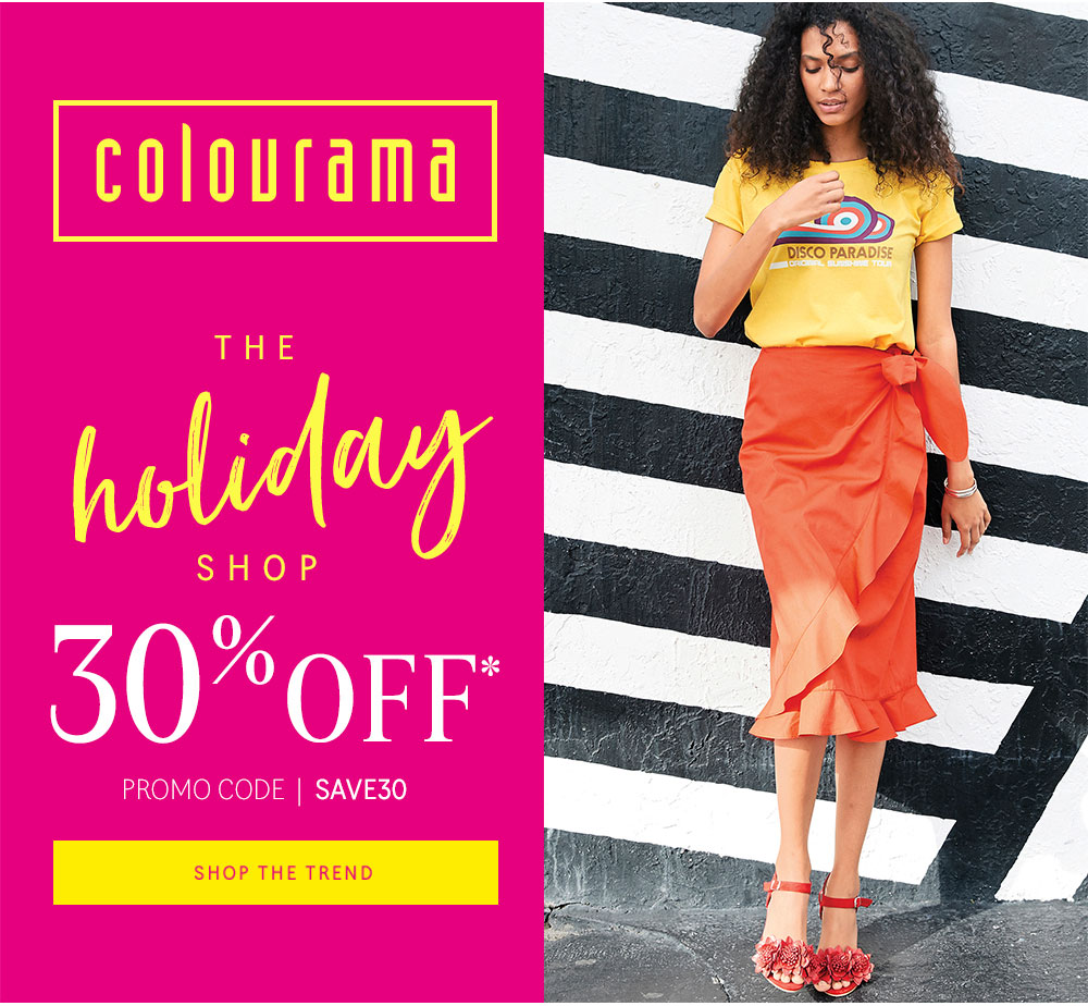 Colourama - The Holiday Shop 30% Off