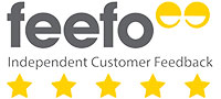 Feefo 5 Star Rated