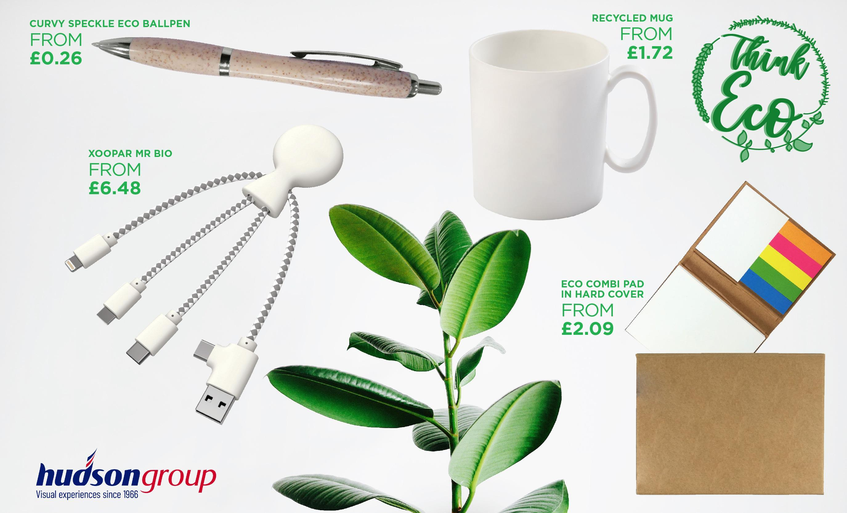 Hudson Group offers eco-friendly promotional products