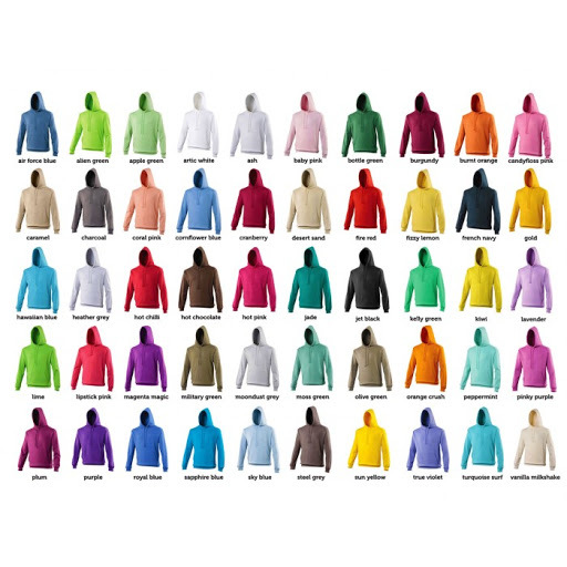 280GSM Hoodie - Over 72 colours to choose from! JUST £10.50