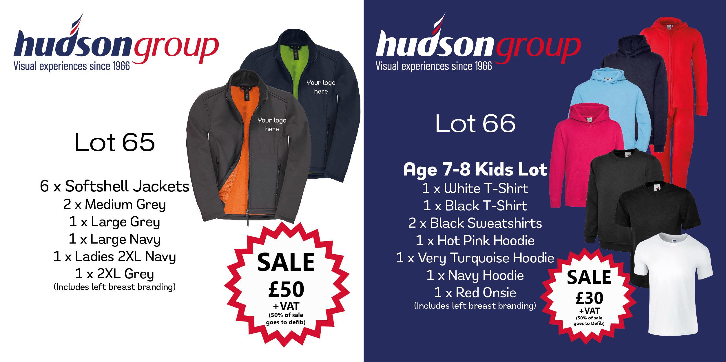 Branded workwear bundles from £50.00!