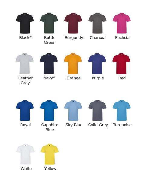 220GSM 50/50 Polo Shirts- JUST £6.50