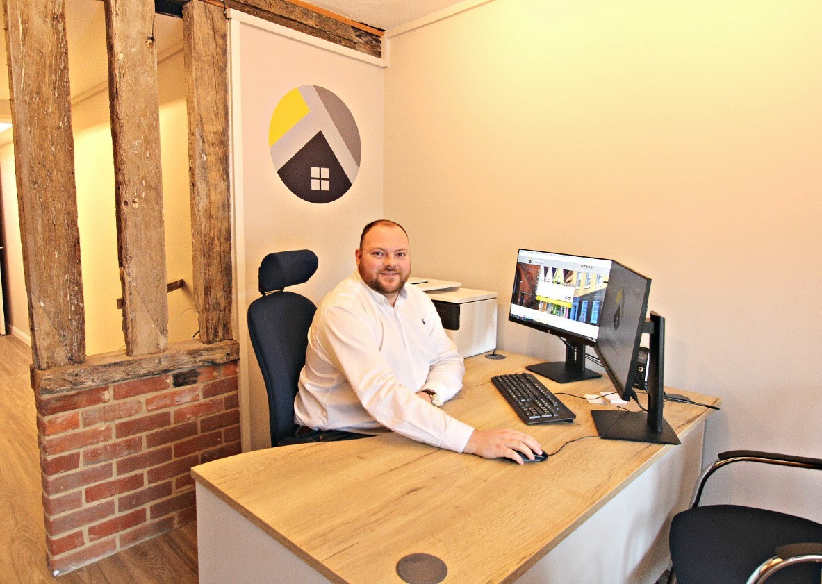 Impactful signage boosts new estate agency