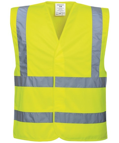 Hi-vis two-band-and-brace vest - JUST £4.50