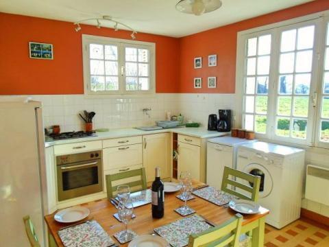 La Belle Maison, dual aspect kitchen-diner