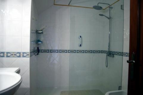 Updated shower room