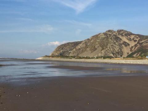 Beach at Dwygyfylchi