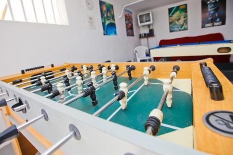 Games room at Villa Antonio