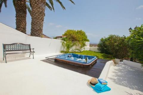 Hot Tub at Villa Antonio Lanzarote