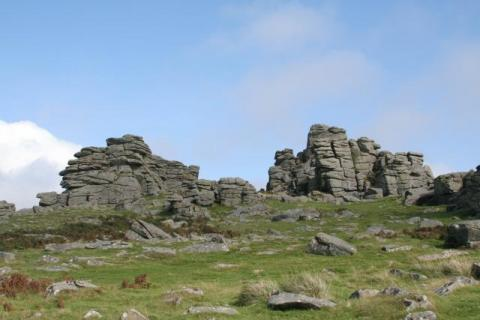Tor on Dartmoor