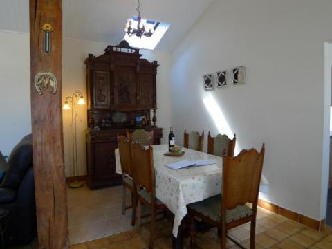 Dining Room at L'Ecurie Holiday Home