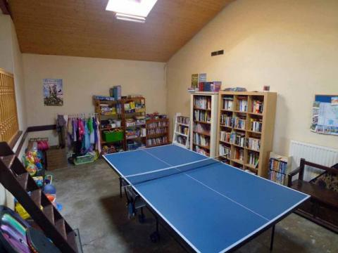 The Well-Stocked Games room at L'Ecurie Holiday Home
