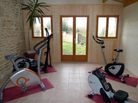 The Gym at L'Ecurie Holiday Home