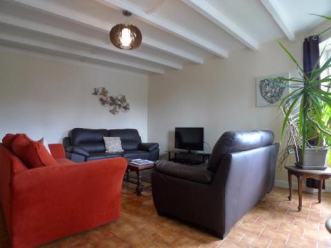 Living Room at Le Vieux Café