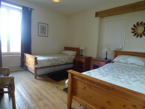 Twin Bedroom at Le Vieux Café