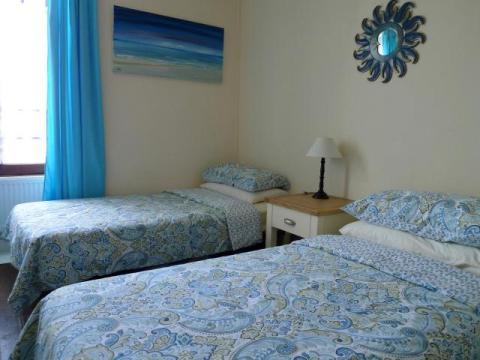Second twin Bedroom at Le Vieux Café