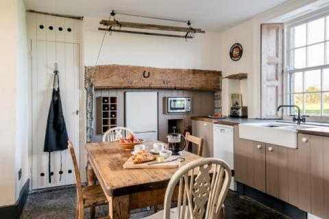 Godney Arts House farmhouse kitchen