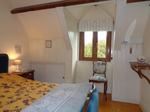 Bedroom Overlooks Garden