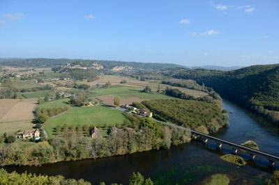 Dordogne river and valley