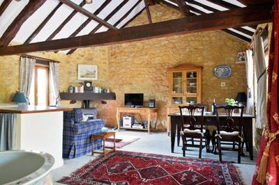 Haybarn living room