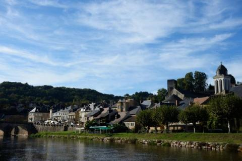 Montignac - our nearest local market town
