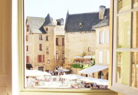 La Liberté Studio Sarlat - view from the window