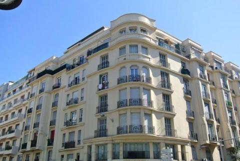 The apartment block