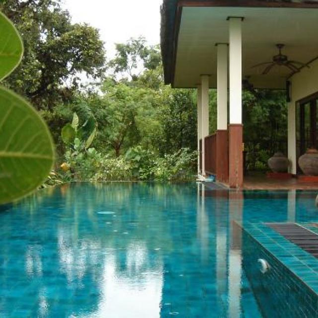 Thailand farm stay villa for family holidays in Thailand