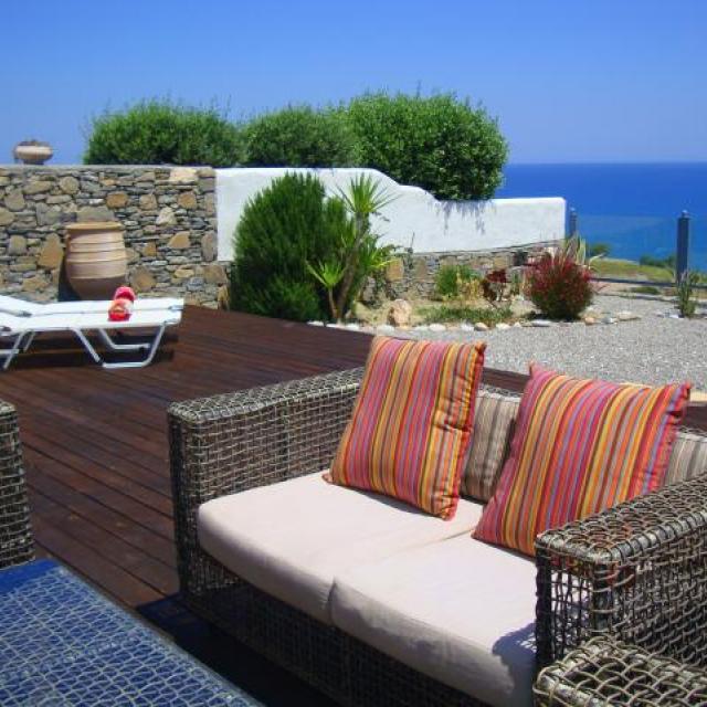 Sea view sun deck