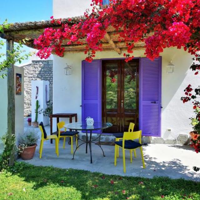 Sunniest and Nice countryhome in the centre of Ischia island