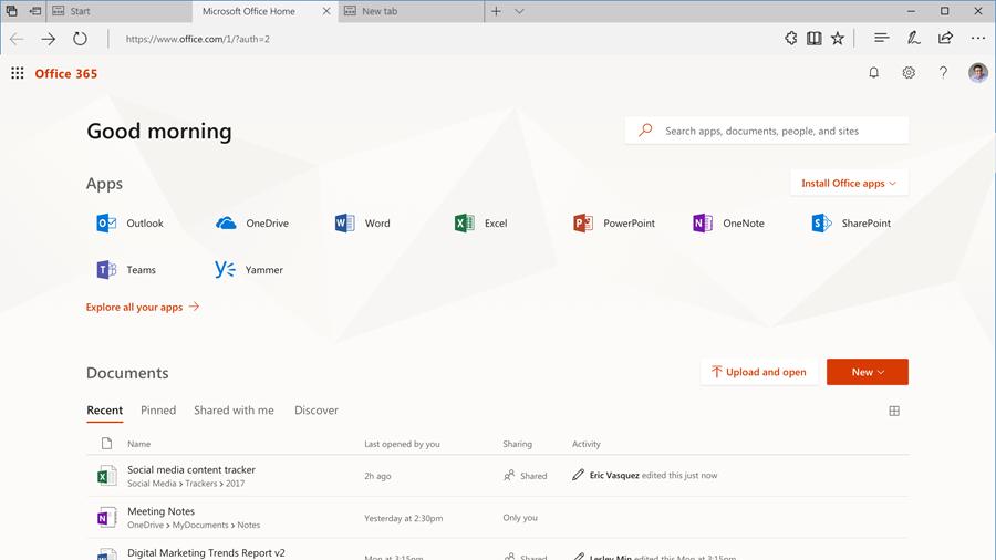Office 365 Update - News - Hwb