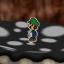 Visiting the lonley mushroom