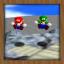 Mario Bros VS King Whomp