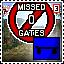 No Miss Gates [South America - Skate Board]