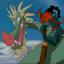 Dragon Riding Wizard