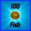 Medal: 100 Fish