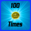 Medal: 100 Times