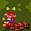 Mario hurt himself in his confusion!